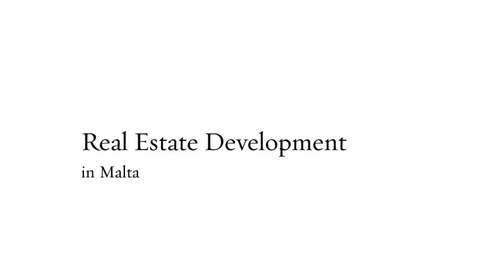 Real Estate Development Malta | pdcmalta.com | Call - 356 9932 2300