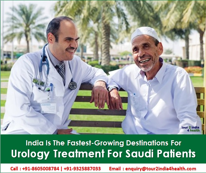 Urology Treatment For Saudi Patients - India Is The Fastest-Growing Destinations