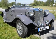 Our 1953 MG TD (sold)