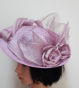 Large Disc Fascinator