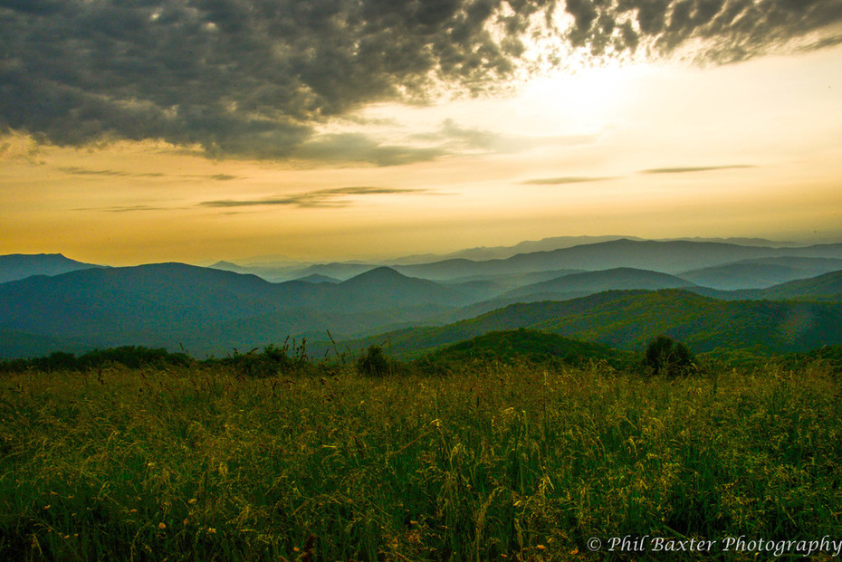 Sunset at Max Patch 6-21-19