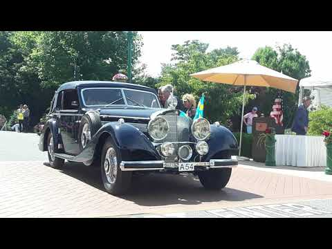 1939 Lagonda V12, 1938 Mercedes Benz 540K Cabriolet,1961 Cooper Monaco Honored At the 2019 Elegance