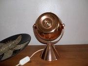 Copper Crestworth fibre lamp