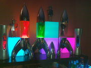 lunar clear red blue green and clear purple
