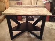 Corner table rebuild 2