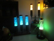 FLORENCE ART CO. AND HEAT TAPES GLITTER LAMPS