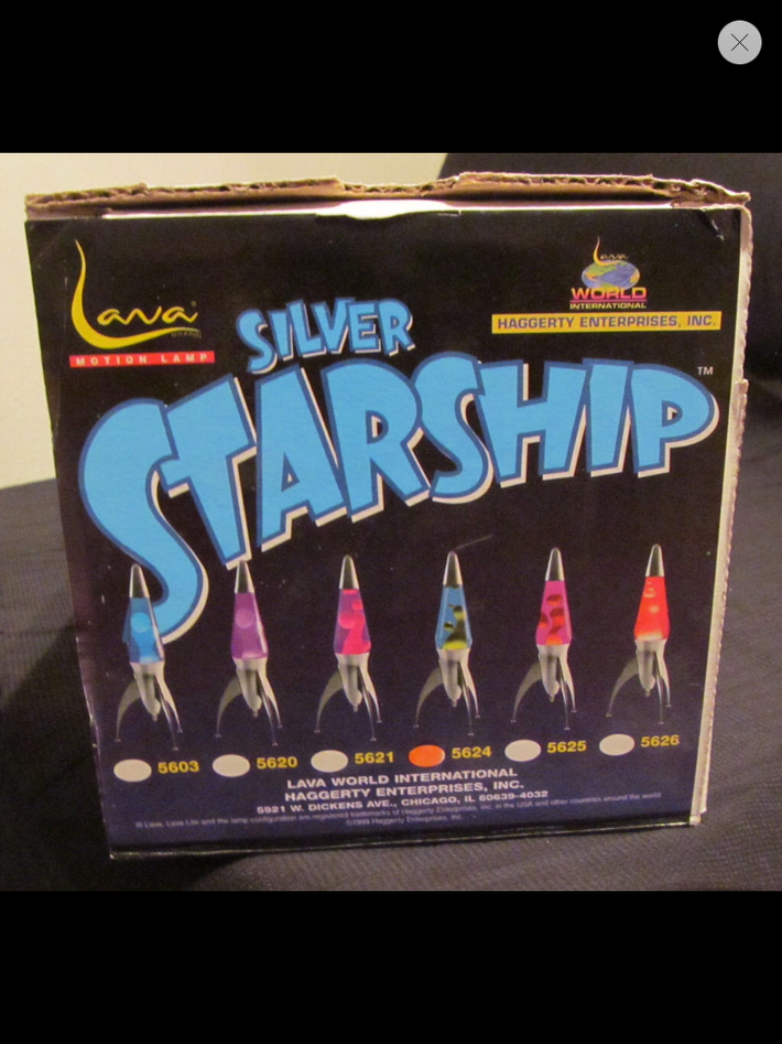 Silver Starship Box Top