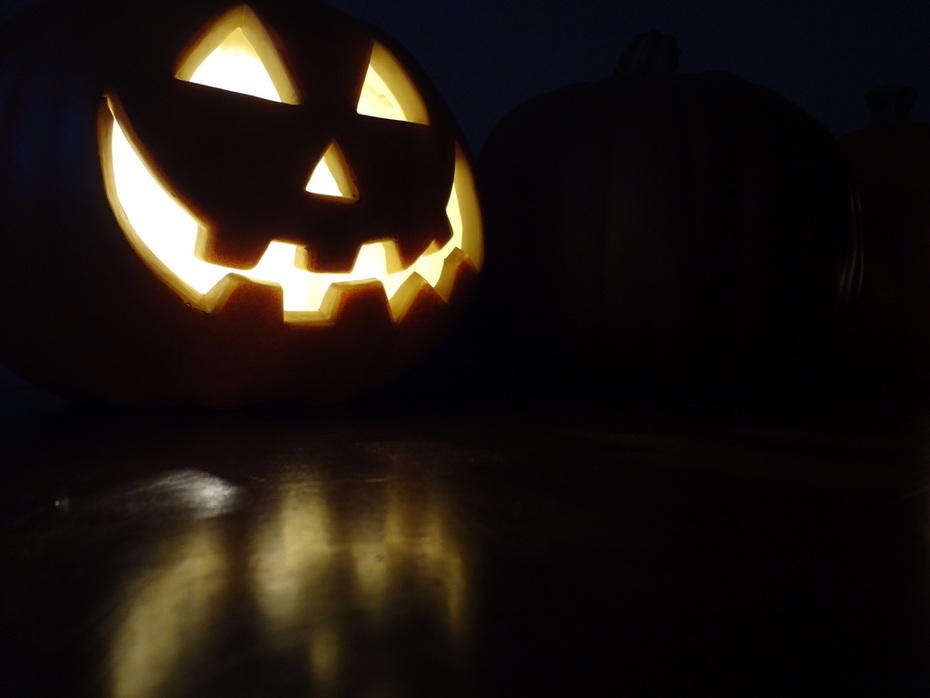 Up Close And Personal with one of my Electric Jack-O-Lantern's