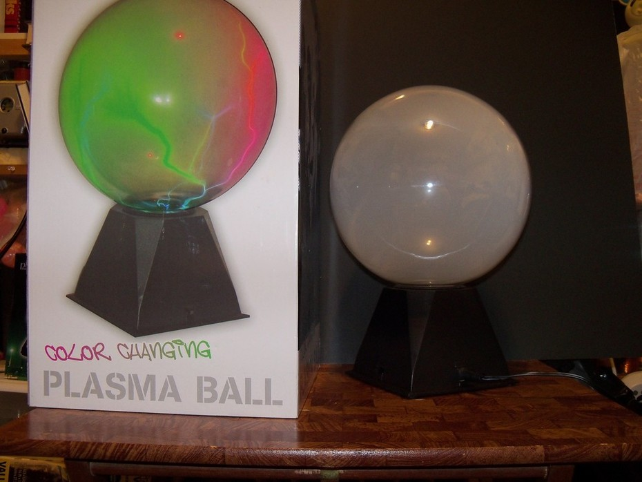 For Sale, Brand new Color Changing Plasma Globes