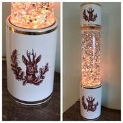 Vintage 60s or 70s ceramic Deer lamp