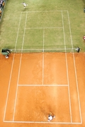 two-surface court