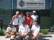 NorCal Mixed League 7.0 Districts Championships 2009 @ Diamond Hills Sports Club and Spa Oakley, CA