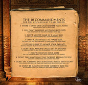 ten commandemnts