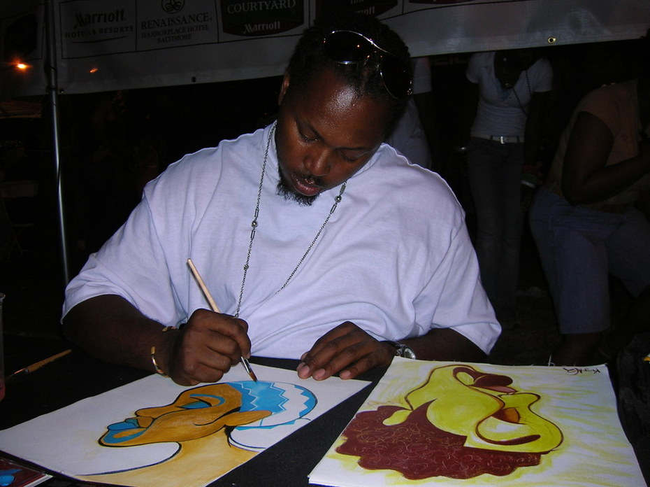 Painting @ The Baltimore Artscape