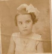 Aurea de Moraes 04 anos de idade
