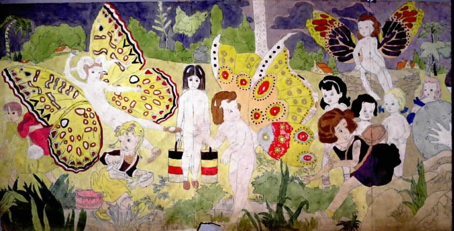 the vivian sisters, by henry darger