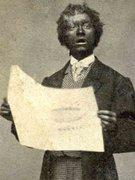 cdv of blackface singer