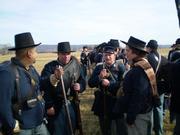 Jawin before the battle of Prairie Grove