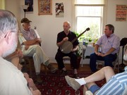Joe Ayers banjo workshop