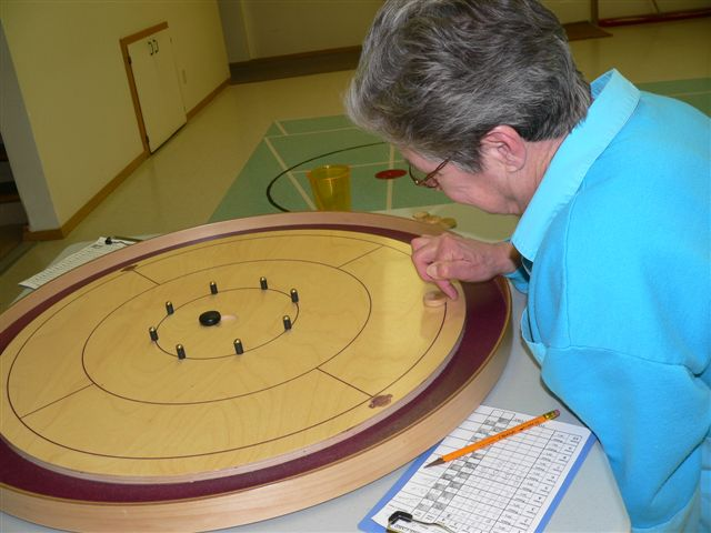 Irene Crokinole Player Of BC.