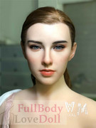 silicone love doll head