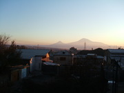 The Ararat from a wintry Yerevan