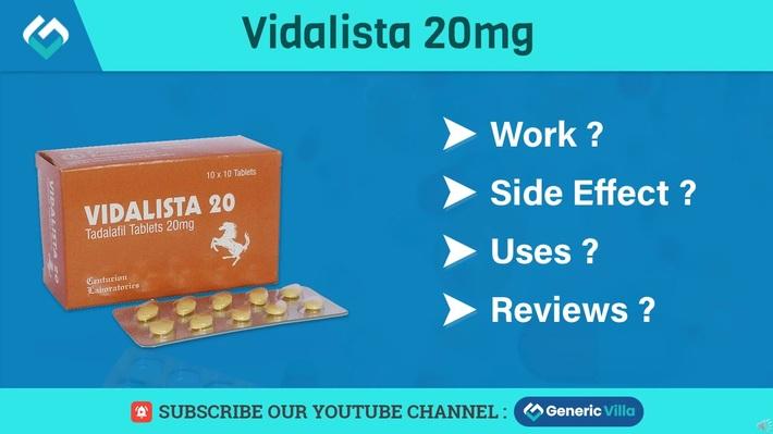 Vidalista 20 Cialis
