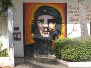 Mural del Che en Varadero Matanzas