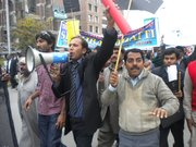 Protest Against Murder of Minorties Minister Shahbaz Bhatti in Pakistan