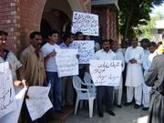 Protest against Burning Quran