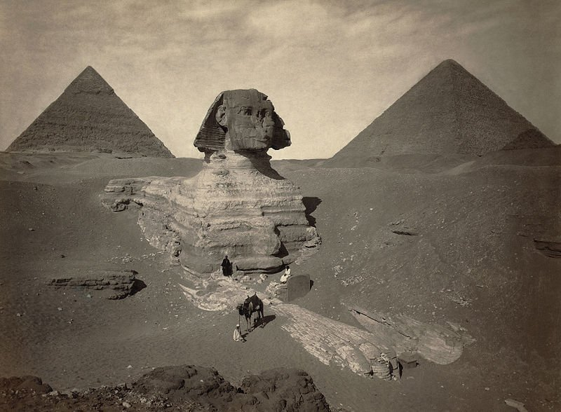 Sphynx - Partially Excavated