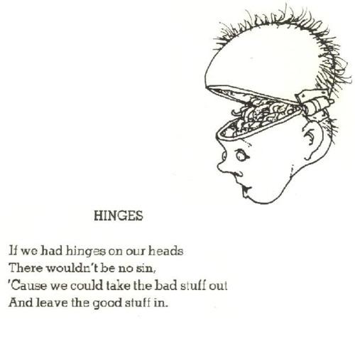 Hinges - shel silverstein