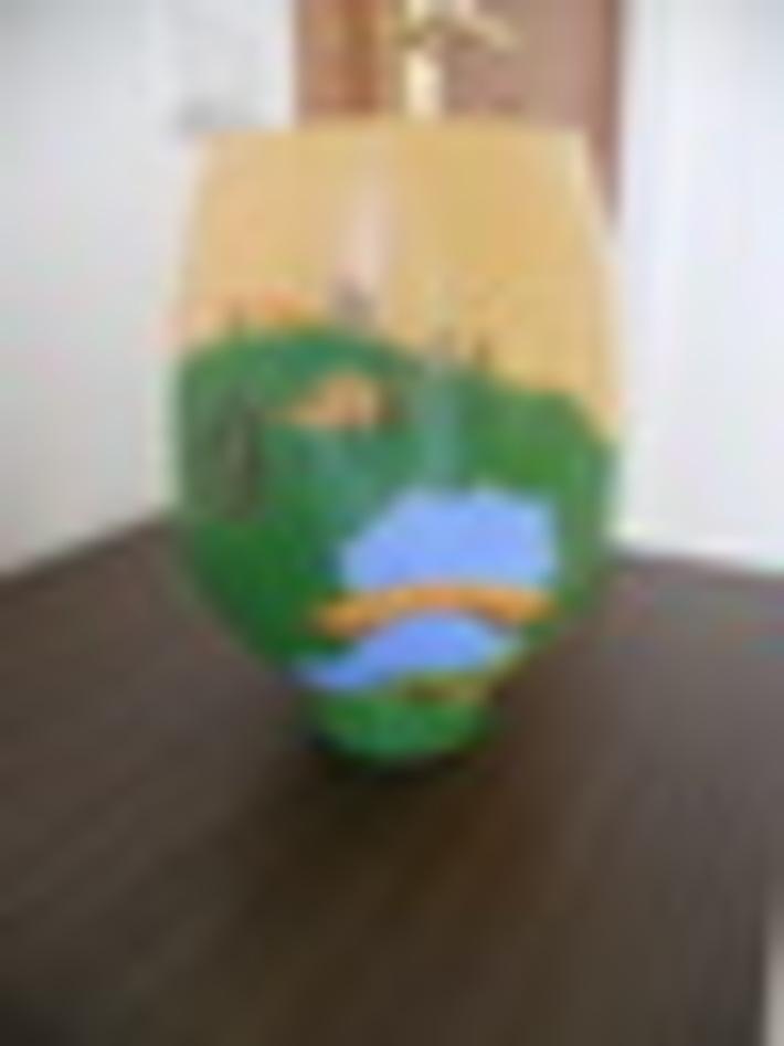 Γυάλινο βάζο