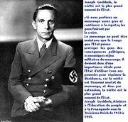 Joseph_Goebbels- la  vérité  est  le  plus  grand ennemi de l'État