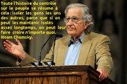 Noam Chomsky - contrôle sur le peuple