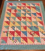Baby Roses Quilt Top