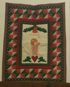 Quilt #85b - Maryell Cox's Christmas wall hanging