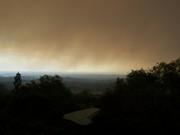 Smoke from the bush fires near Langi Dorn late September!.