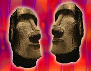 Moai and Lava Lite