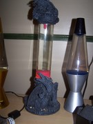 Dragon Lava lamp (FOR SALE )