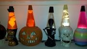 Pumpkins and Skulls