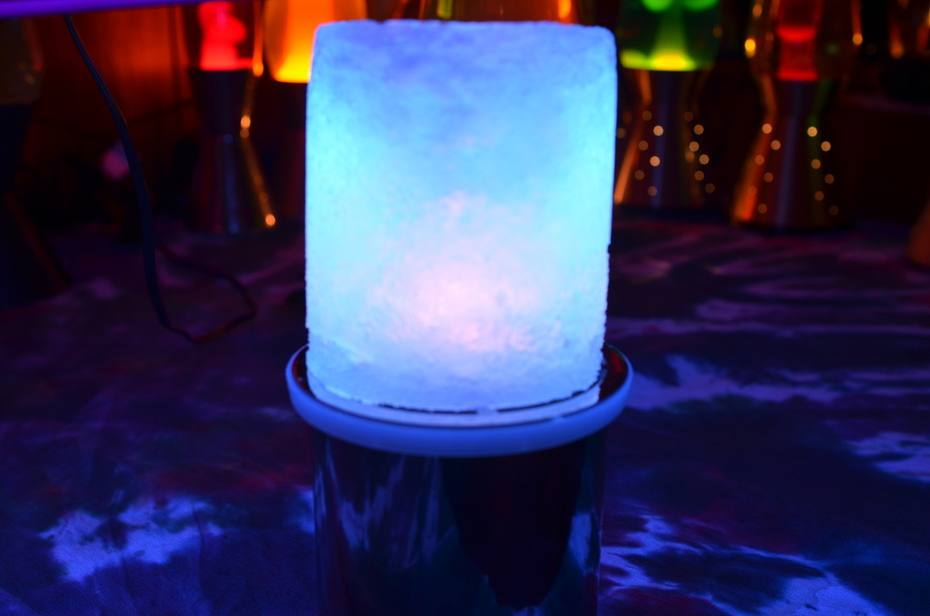 Mathmos Thaw with GLOWING ice.