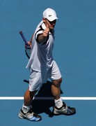 Roddick at Australian Open 2009