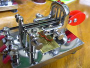 Modified Vibroplex paddle