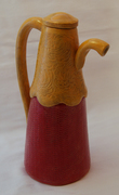 red n gold pot