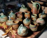 Fall Colors fresh out of the kiln