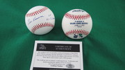 Ed Roebuck signed baseball