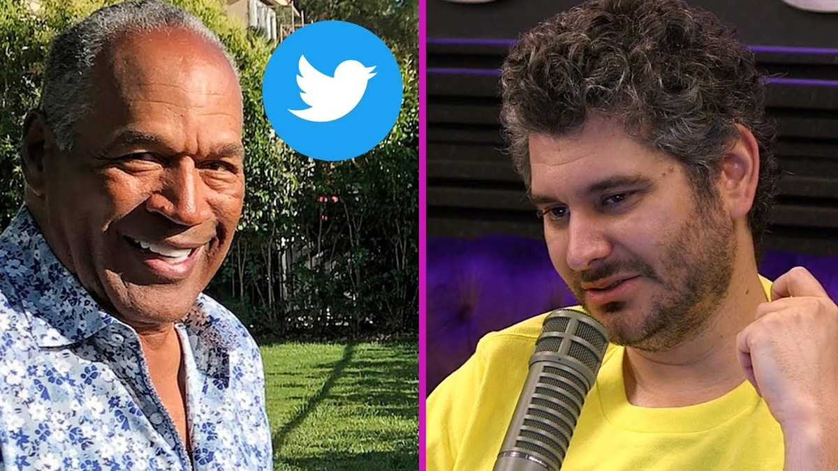 O.J. Simpson Twitter War with Parody Account
