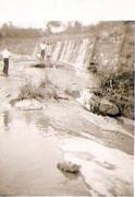 queda Dágua Rio Betim, paisagem déc. de 40