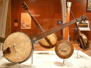 Banjos at the Williamsburg museum
